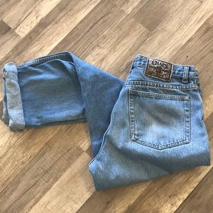 Vintage light wash Chaps 32 x 32
